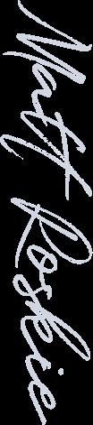 Matt Roskie signature